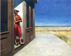 Edward Hopper — Carolina Morning, 1955, Edward Hopper