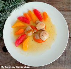 My Culinary Curriculum: Noix de St Jacques poêlées aux agrumes et sirop d'...