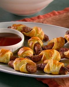 Breakfast Sausage Puffs | 27 Delicious Dishes For An All-Day Brunch Party