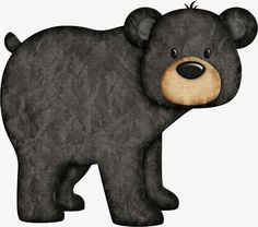 Amazing Home Sewing Crafts Ideas. Incredible Home Sewing Crafts Ideas. Scrapbooking Image, Black Teddy Bear, Bear Clipart, Bear Drawing, Bear Crafts, Bear Decor, Bear Theme, Love Bear, Tatty Teddy