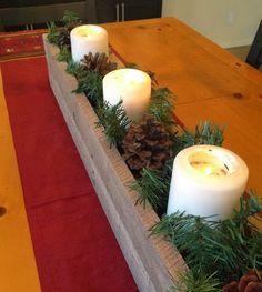 christmas table ideas #christmascenterpiece #wintercenterpiece #holidaycenterpiece