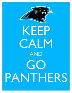 Keep Calm and Go Panthers 8x10 Glossy Print BUY 2 GET 1 FREE