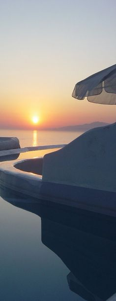 Sunset in Mykonos....Greece