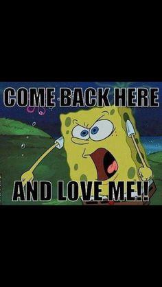 Oh spongebob!
