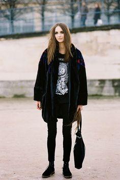 Paris Fashion Week AW 2014....Waleska