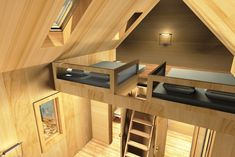 Architecture – Enjoy the Great Outdoors! Tiny House Cabin, Tiny House Plans, Modern House Plans, A Frame Cabin, A Frame House, Small Gazebo, Gazebos, Compact House, Dome House