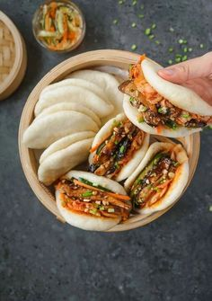 Vegetarian Recipes, Cooking Recipes, Healthy Recipes, Going Vegetarian, Gula, Steamed Buns, Asian Recipes, Stuffed Mushrooms, Food Porn