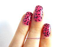 Manucure léopard du salon Wah Nails Article à lire ici : http://www.monvanityideal.com/actualites-beaute/inspiration/le-salon-culte-de-londres-:-wah-nails.html #manucure #nailart #wahnails #vernis #leopard #pink #monvanityideal