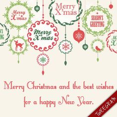 Merry #Christmas and the best wishes for a happy New Year. Try now #tweegram app for FREE >> https://itunes.apple.com/us/app/tweegram-text-message-quotes/id442452787?mt=8