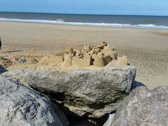 Sand Castle at Happisburgh Norfolk