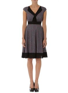 Grey floral print dress - View All Sale - Sale & Offers - Dorothy Perkins United States