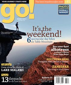 go Table Mountain, Photo Competition, Back Road, March 2013, Day Hike, Real People, Number One, Journey, Digital
