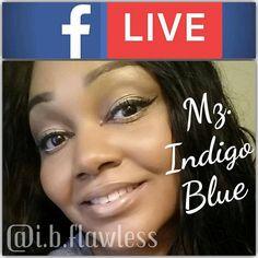 Live tonight at 9pm est  The reverse smokey eye technique. Try it with me! Grab a couple matte neutral shadows, a black/off blk shadow, black eye liner, brow palette, foundation, blush, 3d fiber lash mascara, and your favorite lippie  #makeup #beauty #cosmetics #lipstick #reversesmokeyeye #livemakeup #love #style #skin #beautiful #motd #lotd #grwm #mzindigoblue http://ameritrustshield.com/ipost/1547337038726420462/?code=BV5PtatF9fu