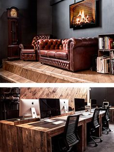 Wooden Office by Ubiquitous | Inspiration Grid | Design Inspiration