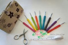 Haven For Hands Crochet Hook Set- Review and Giveaway! #crochet