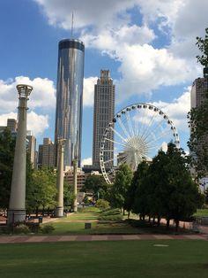 100 Centennial Olimpic Park Atlanta GE GeorgiaPlaces