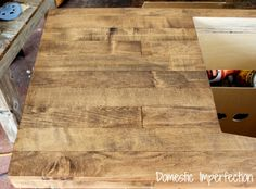 The Wood Flooring Countertop, Part II — Domestic Imperfection