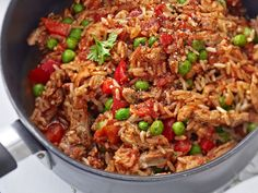 Possurisotto 2 Easy Cooking, Fried Rice, Risotto, Healthy Recipes, Healthy Food, Food And Drink, Pork, Dinner, Eat