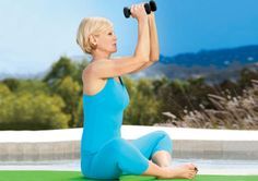 Cobbler Pose with Chest Fly http://www.prevention.com/fitness/yoga/10-yoga-poses-to-relieve-menopause-symptoms/cobbler-pose-chest-fly