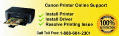 Contact For Help: Canon Customer Service Canada Or Canon Technical S...