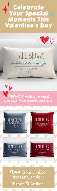 Surprise someone you love with a personalized gift for Valentine's Day. Shop today and get 15% off your order.