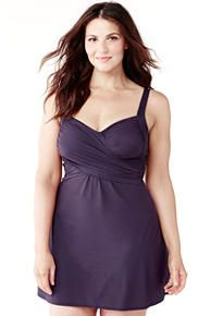 Plus Size Swimwear - Plus Size Swimsuits | Lands' End