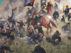 Last Stand Hill.This is the Battle of Bunker Hill were the 7th calvary was led by General George Custer and the Lakota warriors were lead by Chief Sitting bull.