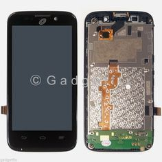 LCD Display Touch Screen Digitizer + Frame Assembly For ZTE Net10 Majesty Z796C  Genuine LCD with LED Backlight + Touch Screen + Frame  Small Parts Included: Microphone, Vibrator and Ear Mesh  Each screen is tested before shipping and are 100% working  In stock and ship same day from California