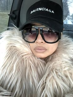 Car Selfies, Gucci Sunglasses, Furs, Balenciaga, Brown, Makeup, Hair, Fashion, Sunglasses