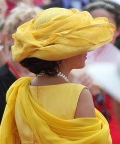Hats at the Royal Wedding in Monaco - Photos - UPI.com