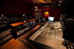 Image result for recording studio control room