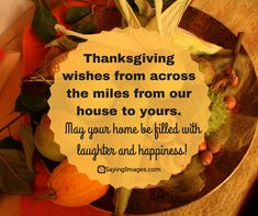 45 Best Thanksgiving Wishes and Greetings For Family and Friends | SayingImages.com