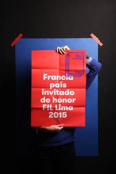 Francia - FIL Lima on Behance