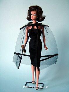 Fashion Queen Barbie in black magic 1964-1965