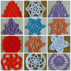 Advent 2016 Crochet pattern by Agrarian Artisan Owl Crochet Patterns, Crochet Socks Pattern, Tunisian Crochet Patterns, Crochet Snowflake Pattern, Crochet Snowflakes, Owl Patterns, Crochet Patterns For Beginners, Crochet Hooks, Crochet Ideas