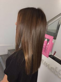 Espresso Base with Hazel Ribbons - 60 Chocolate Brown Hair Color Ideas for Brunettes - The Trending Hairstyle Brown Ombre Hair, Brown Hair Balayage, Brown Blonde Hair, Light Brown Hair, Brown Hair Colors, Brunette Hair, Natural Brown Hair, Golden Brown Hair, Brunette Color