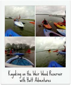 New blog post: Kayaking with Hatt Adventures on the Weir Wood Reservoir in Sussex.  #kayaking #newblogpost #experiencereview #watersports