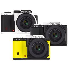 Pentax & Marc Newson's K-01 Digital Camera with 40mm Pancake Lens. This is it! The Marc Newson-designed 16 megapixel mirrorless digital camera with the world's slimmest interchangeable lens.
