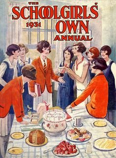 The 1931 cover of The Schoolgirls' Own Annual.