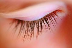 Grow Long and Strong Eyelashes... Mine always fall out :(