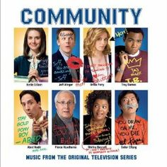 Community, a very funny comedy series about a community college and its students.The characters are so very unique, each and every one of them.  Love their geekery when they talk about tv series or movies they love. So very funny.