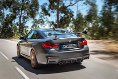 Thank god the BMW M4 GTS is fully street legal – so you can enjoy powerful road trips.  ___  Fuel consumption and CO2 emissions for the BMW M4 GTS: Fuel consumption in l/100 km (combined): 8.3 CO2 emissions in g/km (combined): 194  Further information about the official fuel consumption and the official specific CO2 emissions for new passenger automobiles can be found in the 'New Passenger Vehicle Fuel Consumption and CO2 Emission Guidelines', which are available free of charge at al...