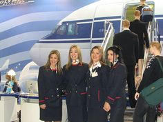Olympic Airways Olympic Airlines, Aristotle Onassis, Aviation Industry, Cabin Crew, Flight Attendant, Athens, Olympics, Silk Scarves, Female