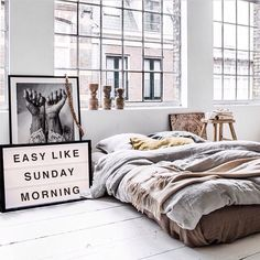 NYC apartment. Bedroom. Easy like sunday morning.