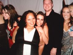 That awkward moment when your coworker's fat arms made you look like you're naked at the office party.