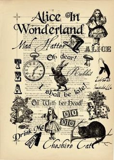 Alice in Wonderland by rachel..54 More