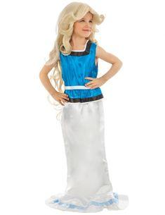 Falbala™-Kostüm für Mädchen Asterix und Obelix™ blau-weiss , günstige Faschings Kostüme bei Karneval Megastore Centurion Romain, Viking Party, Costume, Daughter, Turquoise, Disney Princess, Licence, Outfits, Products