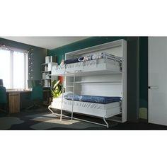 Murphy Bunk Beds, Bunk Bed Rooms, Loft Beds, Beds For Small Rooms, Adjustable Beds, Kid Beds, Girls Bedroom, Bedrooms, Dream Bedroom