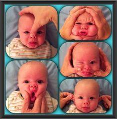 53 New Ideas Funny Baby Photoshoot Faces Funny Babies, Funny Kids, Cute Kids, Cute Babies, Funny Baby Photography, Children Photography, Newborn Photography, Photography Ideas, Funny Faces Pictures