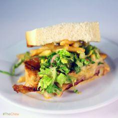 Drive Thru Challenge Chicken Sandwich by Michael Symon! #TheChew